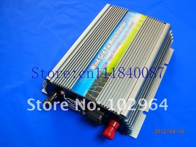 Discount!  Free shipping via china to Japan express  600W Grid Tie Inverter for wind turbine