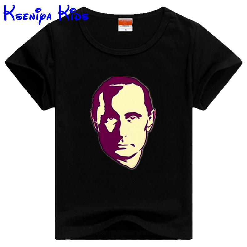 kseniya kids Russian t shirt cotton children t shirts girl t shirt kids boys clothes girl clothing children clothes 2-12Age(China (Mainland))