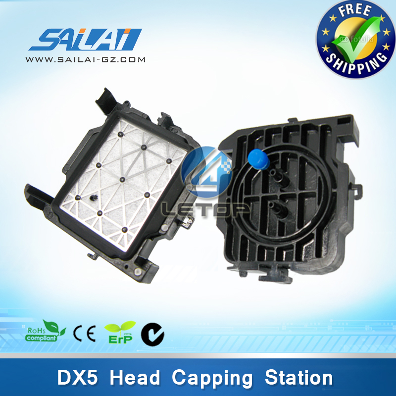 Free shipping!!On Sale!! eco solvent dx5 mutoh cap station for mutoh 1604 inkjet printer(China (Mainland))