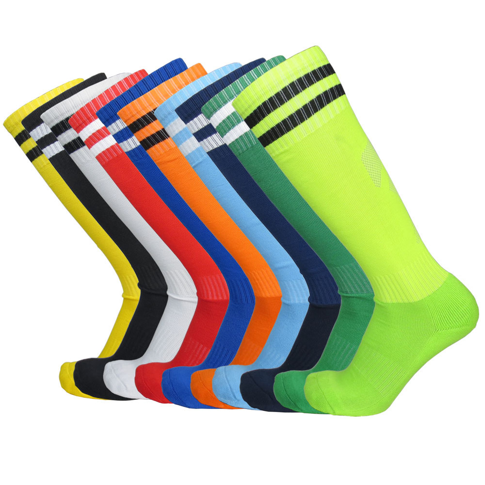 Football Stocking Soccer Socks Thick Bottom Cotton Stockings 10 colors Sports Clothes Best Quality