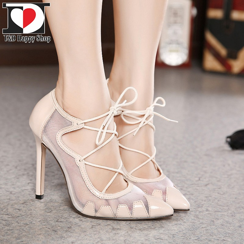 tandd fashion lace up high heel pumps 2015 see