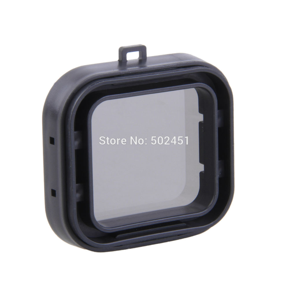 New Glass Filter Under Sea Diving for GoPro HERO 3+ Snap On Housing Filter Grey(China (Mainland))