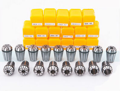Free freight ER16 11 PCs clamp set 1 mm to 10 mm Range for milling CNC engraving machine tool motor axis.(China (Mainland))