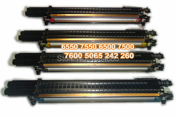Developing unit for Xerox 6550 7550 6500 7500 7600 5065 240 242 250 252 260 toner cartridge(China (Mainland))