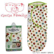 100% Cotton Summer newborn swaddleme baby parisarc baby swaddle wrap Envelope baby parisarc Blanket & Swaddling Size L 14-20 lbs(China (Mainland))