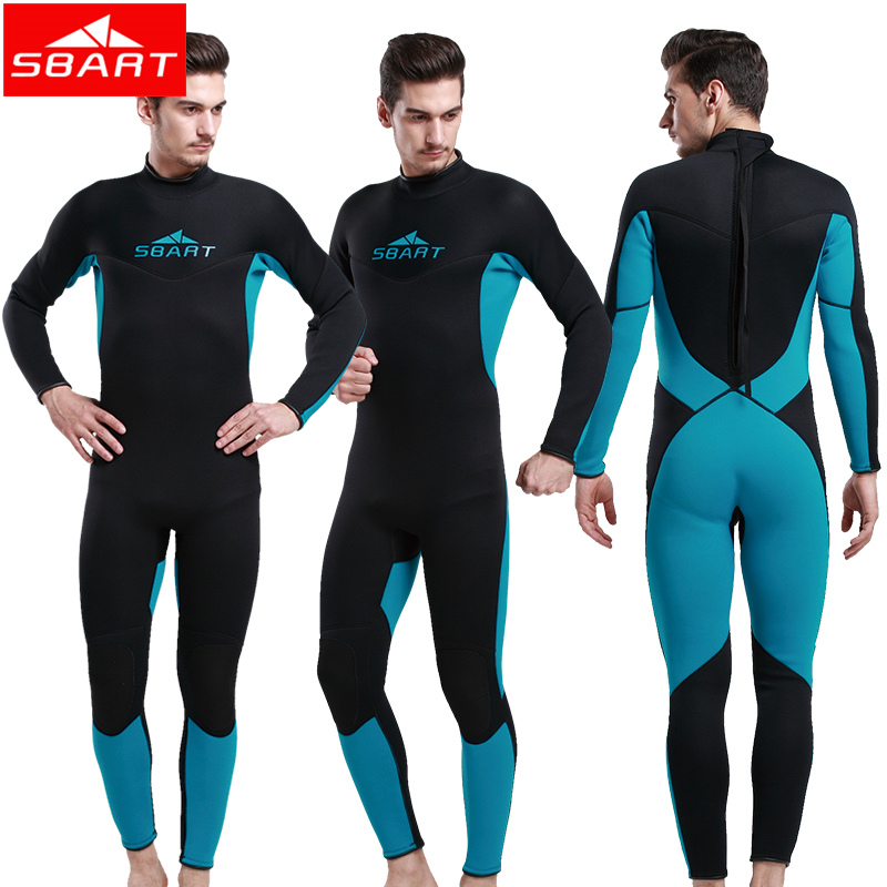 SBART 2016 Wetsuit For Swimming 3MM Neoprene Full Body Scuba Diving Surfing Triathlon Wetsuit Men Spearfishing Wetsuits N1017<br><br>Aliexpress