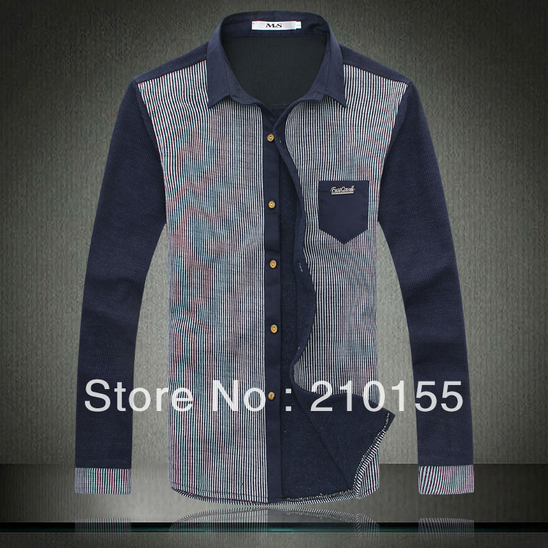 Buy new men fashion casual dress shirts Buy white dress shirt