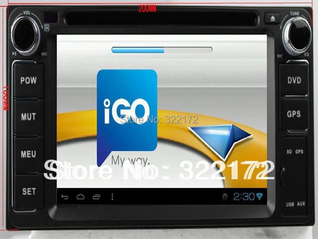 Car Radio Audio DVD GPS For TOYOTA RAV4 Corolla Vios Hilux Terios Land Cruiser Avanza Prado Ect. Free Shipping