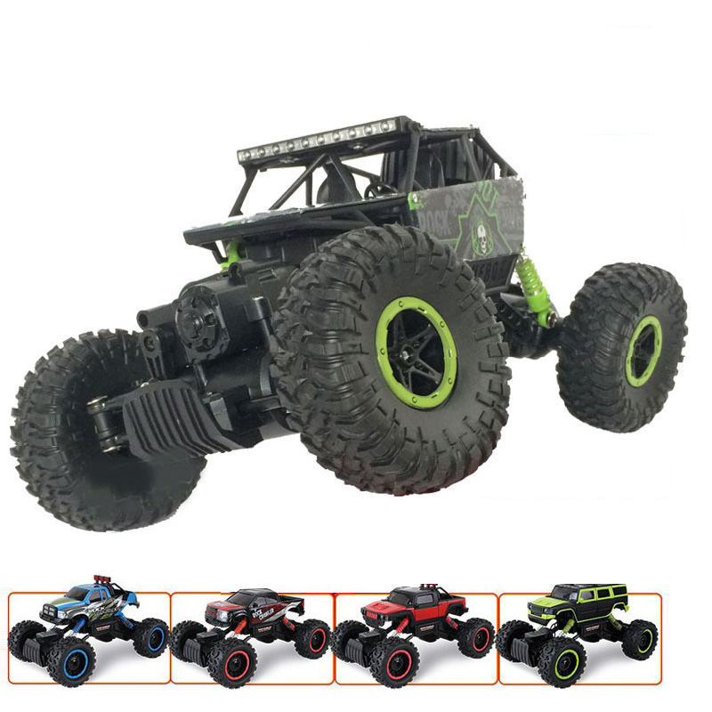 RC Car 2.4G 4x4 Driving Car 4CH 4WD Rock Crawlers Double Motors Drive Bigfoot Car Off-Road Vehicle Toy Remote Control Car Model(China (Mainland))