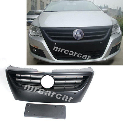 Front Center Hood Grille Matt Black Grill Fit For Volkswagon VW Passat CC 08-12<br><br>Aliexpress