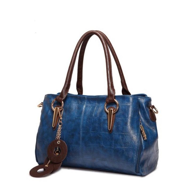 Genuine leather bag ladies 2015 Bags for women shoulder messenger bag women leather handbags designer handbags high quality 2718<br><br>Aliexpress