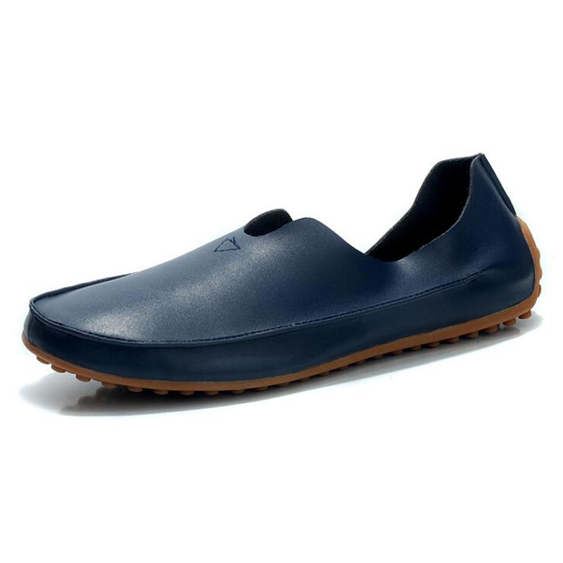 Large Size 39-48 new fashion 2016 summer style men shoes genuine leather soft bottom peas breathable low top flats 5c256 - Msbeauty store