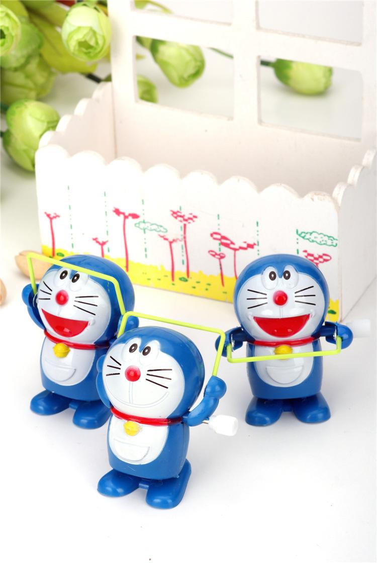 Free Shipping 4Pcs/Lot Baby Toys Talking Clockwork Hello Kitty Cat Caterpillar Wind Up Toys Christmas Gift Bath Wind Up Toys(China (Mainland))