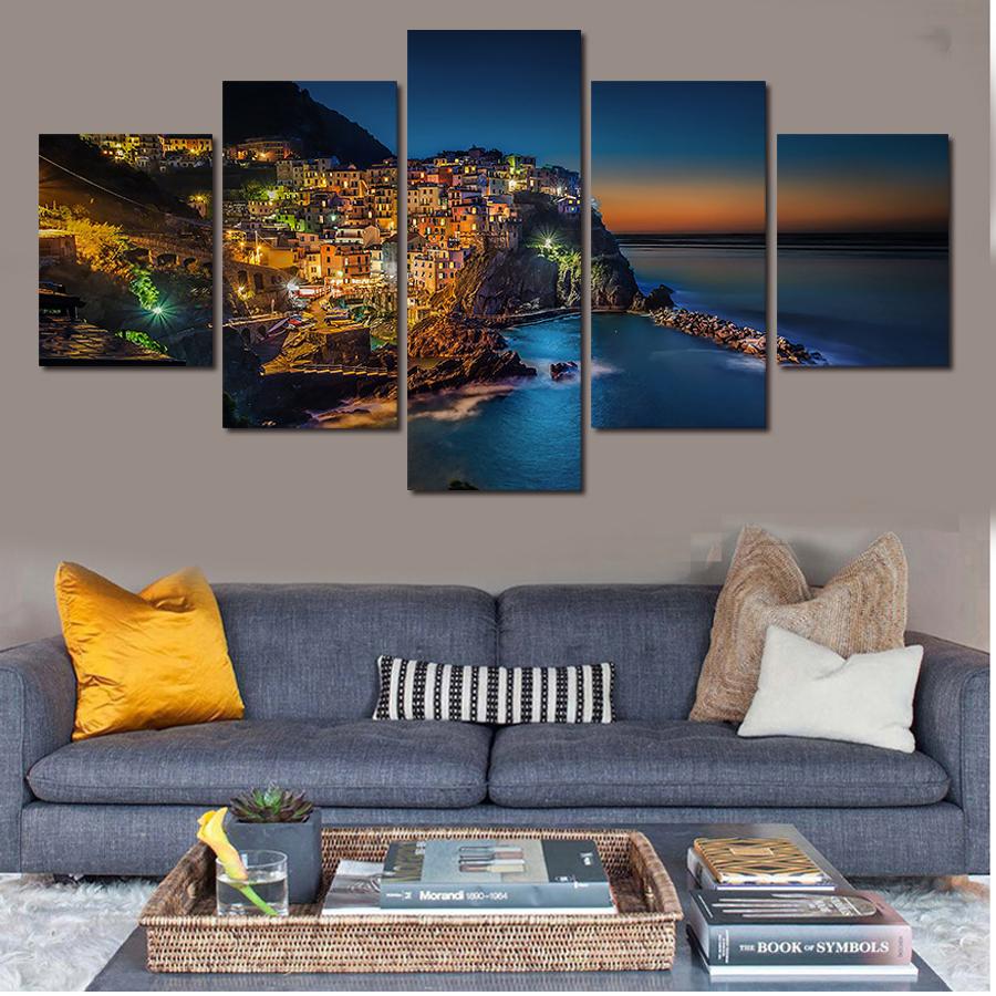 Online kopen wholesale eiland canvas uit china eiland canvas groothandel - Modulaire muur ...