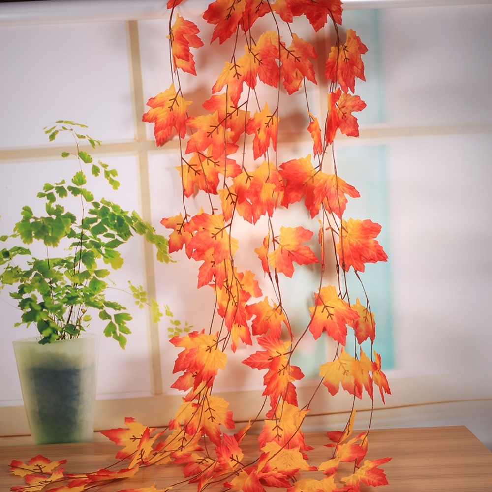 Online buy wholesale fall decorations sale from china fall for Autumn leaf decoration