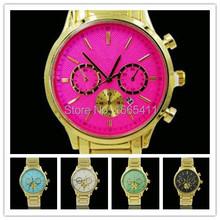 2015 ventas calientes nueva marca de lujo Reloj mujeres Kors relojes hombres Reloj Digital del diamante del cuarzo Casual Reloj de Mujer 6MK3