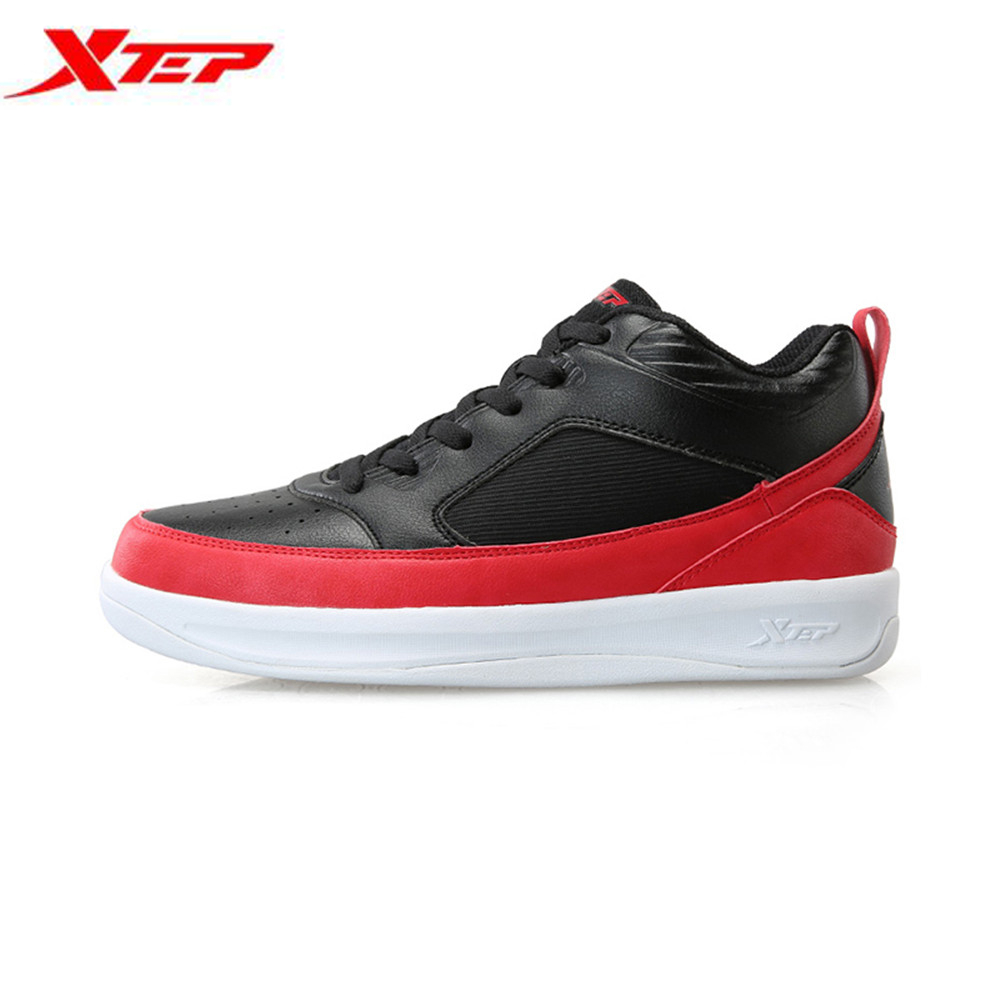 Xtep Men's Professional Basketball Shoes Mens Trainer Shoes High Tops Boots Outdoor Sports Athletic Sneakers Sapatilhas Homem(China (Mainland))