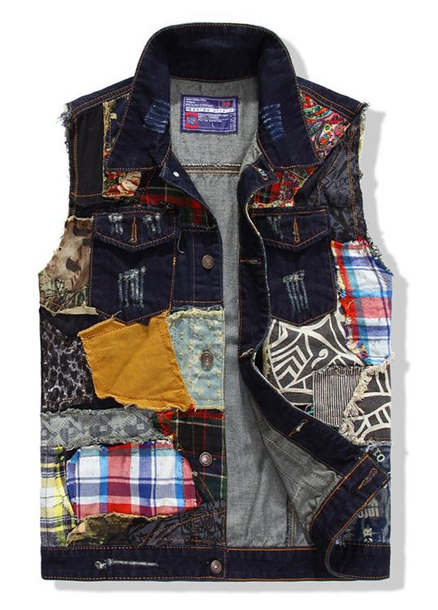 Mens sleeveless casual denim vest jacket Men Punk Style Rock Hip Hop skateboard sport cotton waistcoat motorcycle jeans coatОдежда и ак�е��уары<br><br><br>Aliexpress