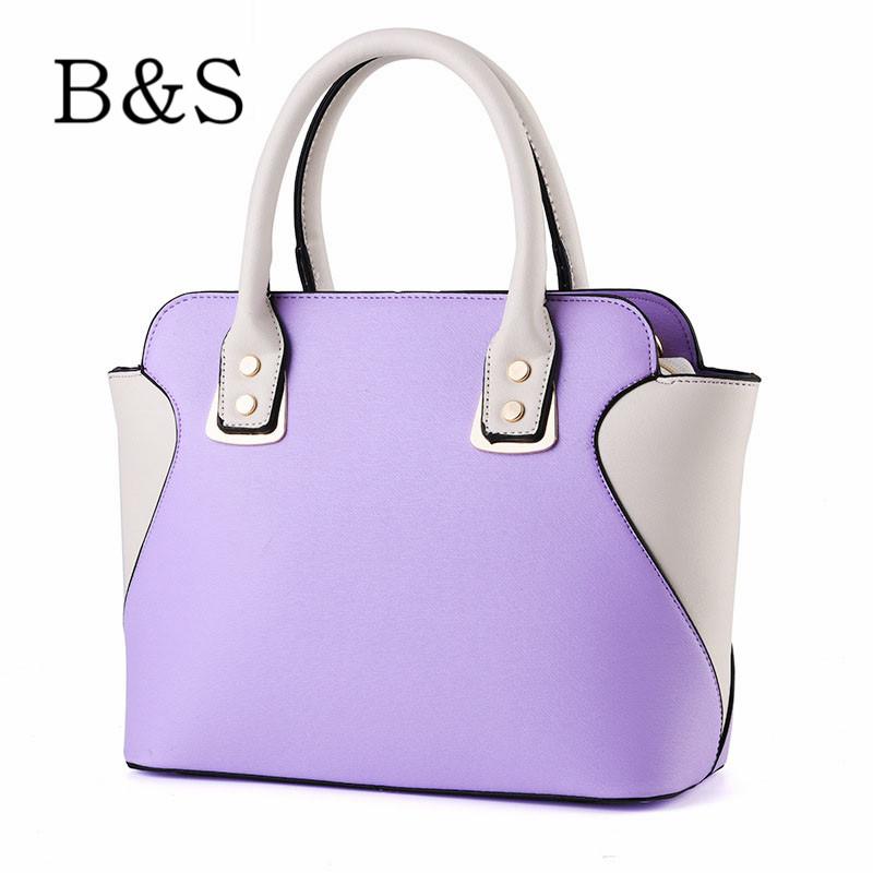 Women bags 2016 luxury brand designer smile leather female shoulder
