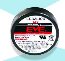 Пожарная сигнализация аккумулятор для евы ER32L100 3.6 В 1700 мАч литий-ионная батарея 32L100 32.9 * 10.5 мм