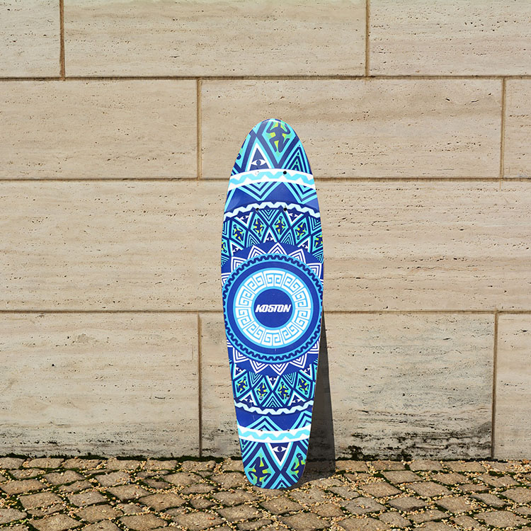 KOSTON pro old school deck with 7ply canadian maple hot air pressed, mini size skateboard decks for cruising purpose(China (Mainland))