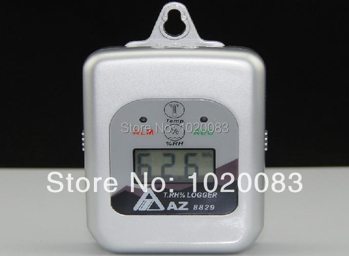 AZ8829 Mini LCD Digital Temp.&RH& Dataloogers -40-85 Degree /Temp. Logger 16000 Point
