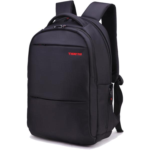 Tigernu Brand Waterproof Nylon Backpack Laptop Bag Men's Travel Bags Backpacks Capacity Black Backpack Men Unisex Women Backpack(China (Mainland))