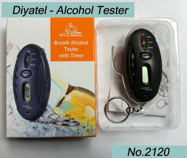 LED Stopwatch Car-detector Alcohol Tester Design Patent(China (Mainland))