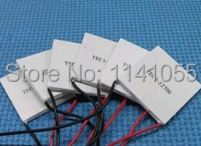 5PCS/LOT TEC1-12706 12706 TEC Thermoelectric Cooler Peltier 12V New of semiconductor refrigeration TEC1-12706 FREE shipping(China (Mainland))