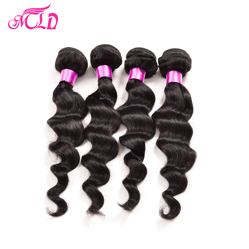 Virgin Peruvian Loose Wave 4pcs Lot 7a unprocessed Peruvian Loose Wave Ms Lula Hair Wet And Wavy Cheap Human Hair 100g Bundles