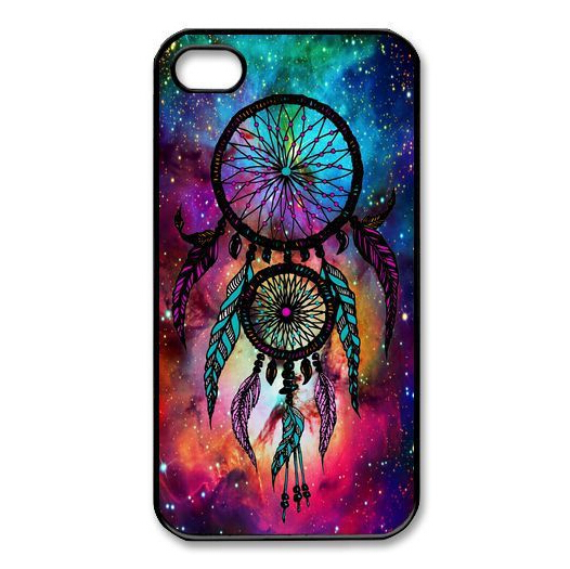 Hot Sale DREAM CATCHER nebula Cell Phones hard Phone Case protective shell Skin for Apple Iphone 4 4s 5s 5c Cover(China (Mainland))