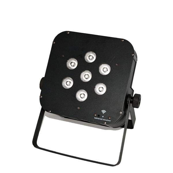 4PCS/lot Wireless Battery Powered LED Par Light RGBW Par Can LED Lights Party Disco Wedding DJ Lighting<br>