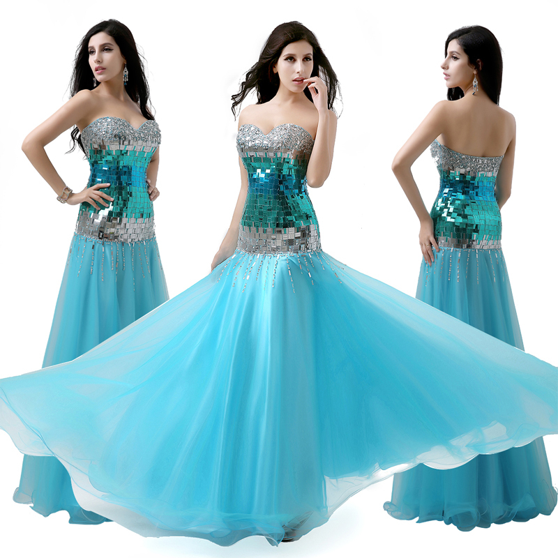 Вечернее платье Sarahbridal 2015 vestido XU016
