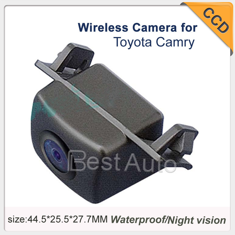 In Stock Free Shipping Car Rear View Camera Wireless For Toyota Camry 2007/2008 degree backup Camera Night Vision Waterproof(China (Mainland))