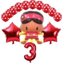 14 pçs/lote Balão Para A Decoração Do Casamento da Festa de Aniversário Dos Desenhos Animados Pocoyo Pocoyo Balões Inflables Brinquedos Menino Festa Balões De Látex conjunto(China)