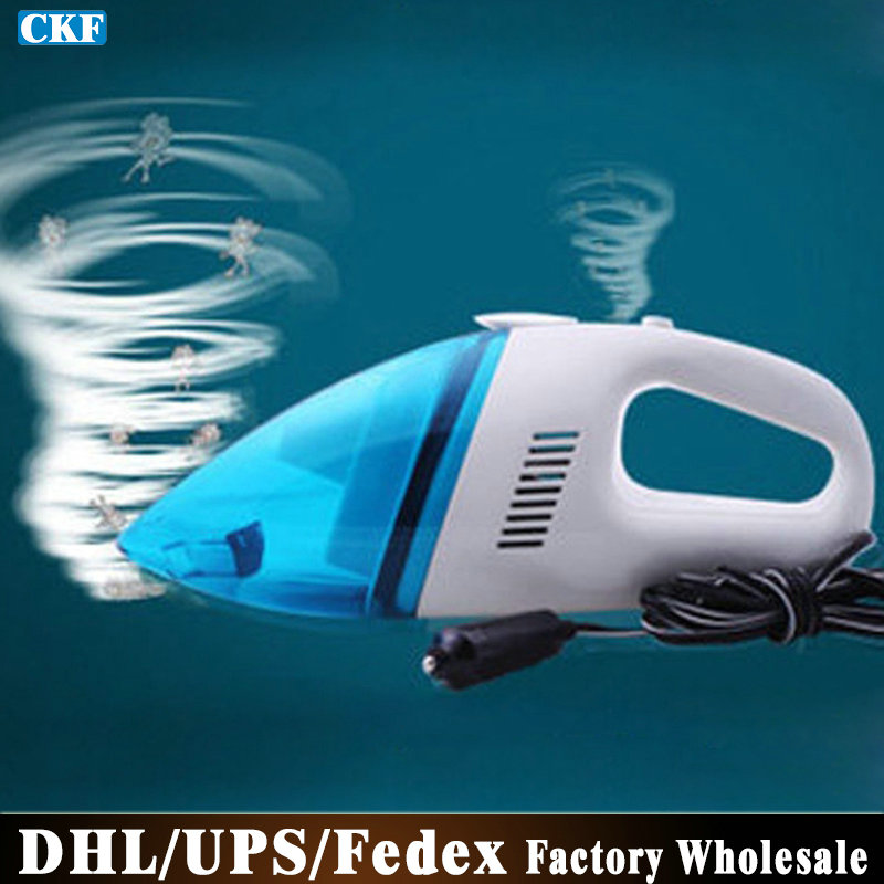 Free DHL Fedex 10pcs/lot T004 Rechargeable Portable Car Vacuum Cleaner Wet And Dry Dual-use(China (Mainland))