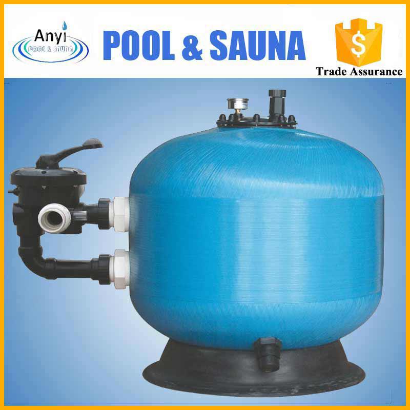 S600s fibra de vidrio montaje lateral piscina filtro de for Costo piscina fibra de vidrio