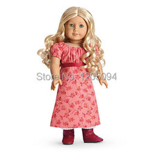 """doll clothes,doll accessories dress,ag brand Caroline's Travel dress for 18""""inch american girl doll ,birthday gift ,free shpping(China (Mainland))"""