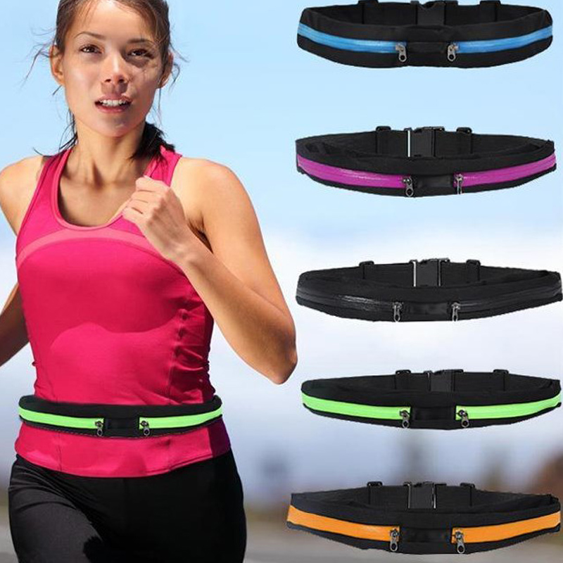 2016 outdoor stretch sport fanny pack fashion multifunctional run, ride gym bag sports bags 6color()