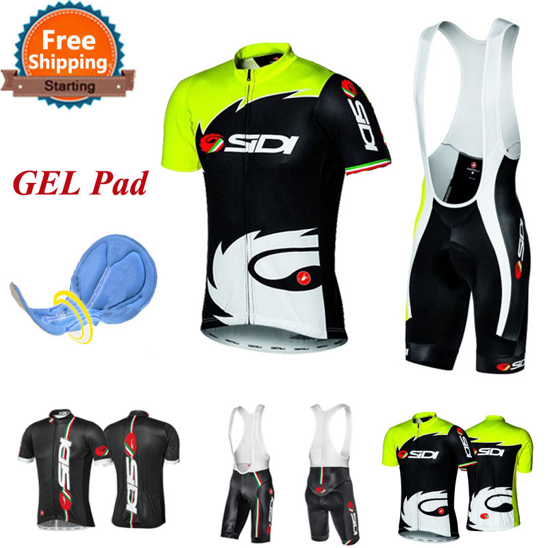 Cycling Jerseys Breathable Bike Clothing Equipaciones Ciclismo/Quick-Dry Bicicleta Trajes Ciclismo Hombre/GEL Pad Bike Bib Pants(China (Mainland))