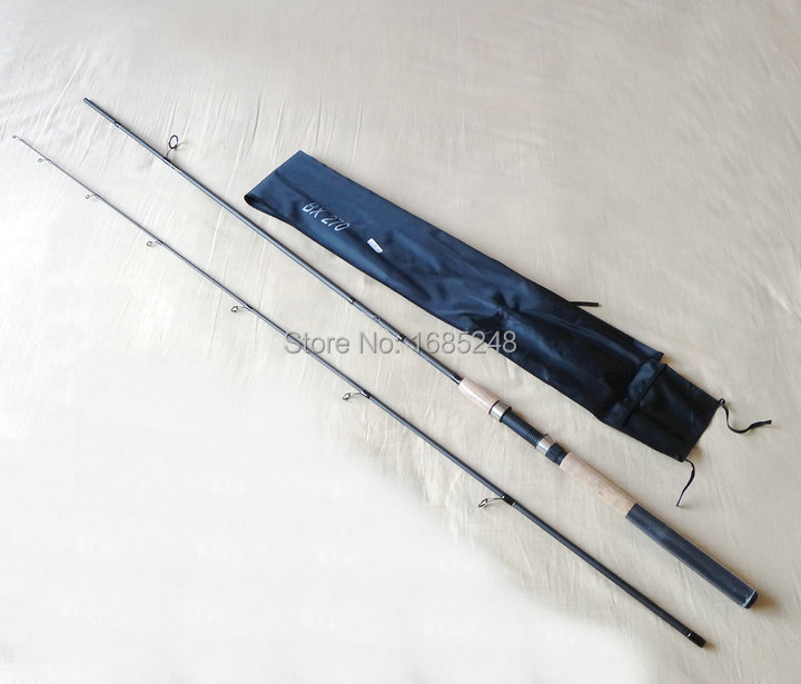 2.10m 2 sections 10-30g full carbon spinning rods(China (Mainland))