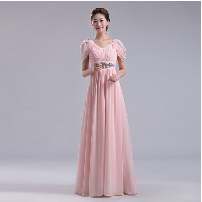 Maternity long dresses plus size formal blush pink long for Plus size maternity wedding dresses