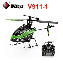 WLtoys V911-1 4-Channel 2.4GHz Remote Control Aiplane RC Helicopter with Big Transmitter