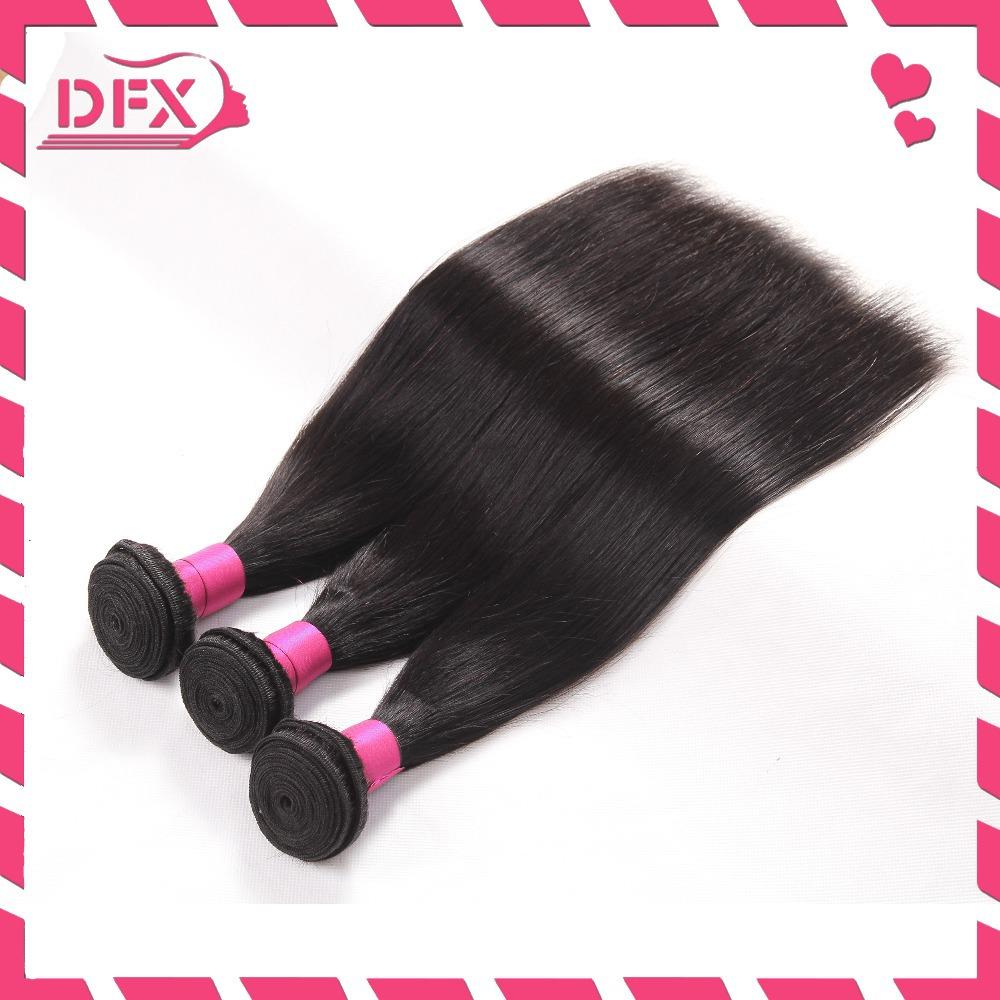Rosa hair 6A Peruvian Virgin Hair Straight,on sale Human hair Weave bundles 3pcs/lot Unprocessed Virgin Pervian Hair Extension(China (Mainland))