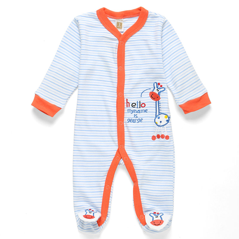 Baby Romper 2015 Romper 100% Cotton Baby Boy Girl Clothes Long Sleeve Newborn Next Jumpsuits & Rompers Baby Product