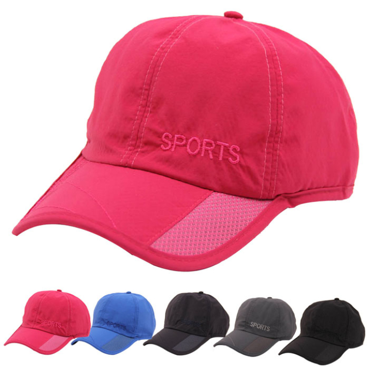 2015 Fashion Men's Summer Outdoor Sun Hat Ventilation Fishing Baseball Cap Perfect Gift(China (Mainland))