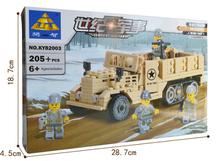 Kazi 82003 Century Military Series 205pcs M2 Halftrack military vehicles assembled toy building blocks(China (Mainland))