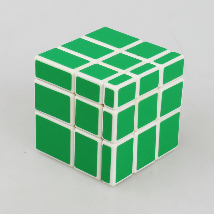 wholesale Cast Coated cube Mirror BlockNew Most brain Magic Cubo Action figures puzzle cube Educational toys(China (Mainland))