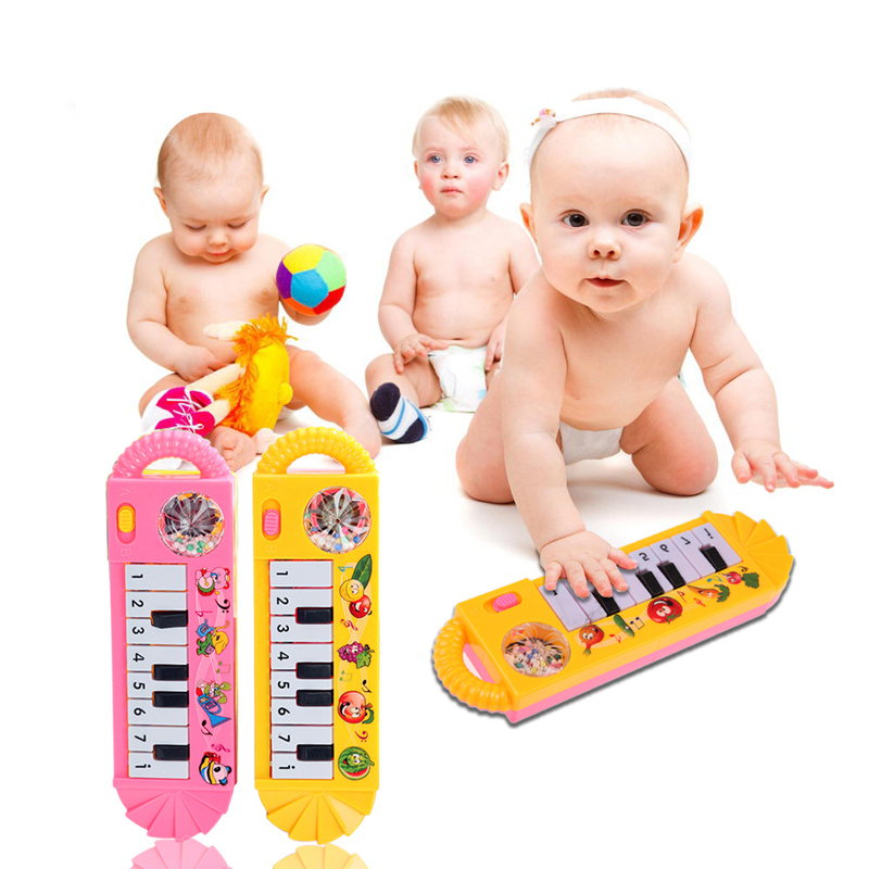Colorful Mini Baby Infant Toy Piano Toddler Early Educational Developmental Baby Kids Musical Toy Piano 0-7 K5BO(China (Mainland))