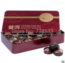Hot Sale! Pu'er Black Tea Flavor Pu er, Puerh Tea, Chinese Mini Yunnan Puer Tea,Gift Tin box , Green Coffee